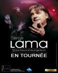 spectacle 50 Ans D'encre Et De Projecteurs de Serge Lama