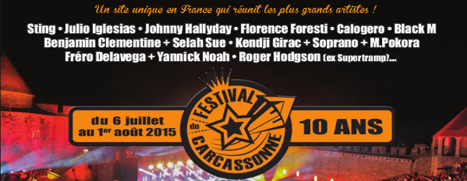 Festival de Carcassone 2015