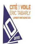 Visuel CITE DE LA VOILE ERIC TABARLY