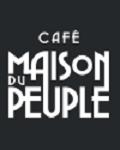 Visuel CAFE MAISON DU PEUPLE A BRUXELLES