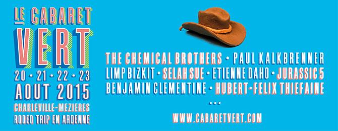 Festival Le Cabaret Vert 2015