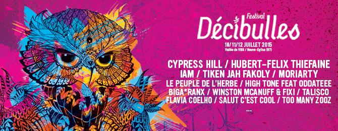 Festival Décibulles 2015