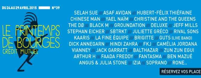 Festival Le Printemps De Bourges