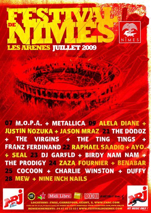 Festival de Nimes 2009 @ Nîmes